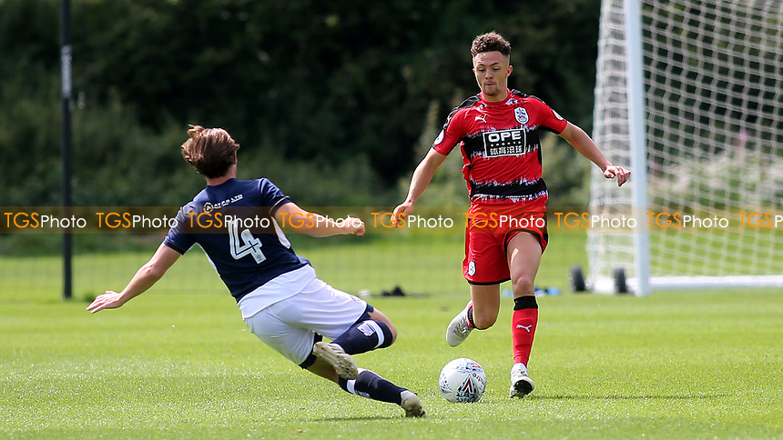 Jordan Williams of Huddersfield Town in action during Millwall Under-23 vs Huddersfield Town Under-23, Professional Development League Football at Millwall Training Ground on 14th August 2017