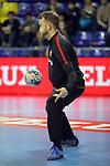 VELUX EHF 2017/18 EHF Men's Champions League Group Phase - Round 11.<br /> FC Barcelona Lassa vs HC Vardar: 29-28.<br /> Gonzalo Perez de Vargas.