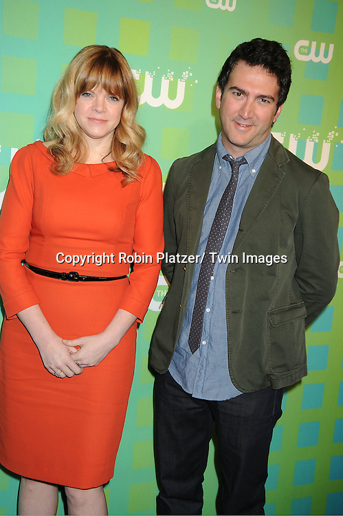 """Stephanie Savage and Josh Schwartz, Executives Producers of """" The Carrie Diaries"""" attends The CW Network's 2012 Upfront Presentation on May 17, 2012 at New York City Center in New York."""