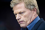 Oliver Kahn, former German football goalkeeper, prior to the 2016-17 UEFA Champions League Round of 16 second leg match between Atletico de Madrid and Bayer 04 Leverkusen at the Estadio Vicente Calderon on 15 March 2017 in Madrid, Spain. Photo by Diego Gonzalez Souto / Power Sport Images