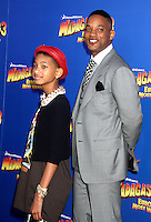 Willow Smith and Will Smith at the NY premiere of Madagascar 3: Europe's Most Wanted at the Ziegfeld Theatre in New York City. June 7, 2012. © RW/MediaPunch Inc. NORTEPHOTO.COM