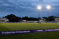 General view of play under the lights during Essex Eagles vs Surrey, NatWest T20 Blast Cricket at The Cloudfm County Ground on 7th July 2017