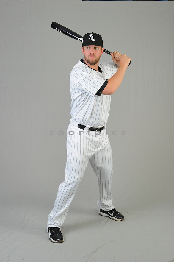Chicago White Sox Andy Wilkins (38) during photo day on February 28, 2015 in Glendale, AZ.