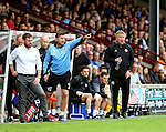 Chris Wilder manager of Sheffield Utd during the English League One match at Glanford Park Stadium, Scunthorpe. Picture date: September 24th, 2016. Pic Simon Bellis/Sportimage