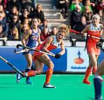 ROTTERDAM - Maria Verschoor (Ned) )  tijdens de Pro League hockeywedstrijd dames, Nederland-USA  (7-1) .   COPYRIGHT  KOEN SUYK