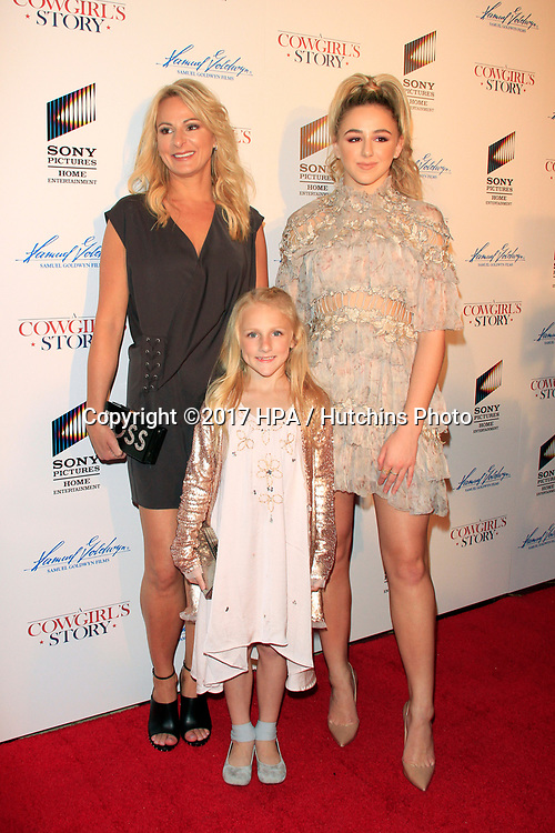 """LOS ANGELES - APR 13:  Christi Lukasiak, Clara Lukasiak, Chloe Lukasiak at the """"A Cowgirl's Story"""" Premiere at the Pacific Theatres at The Grove on April 13, 2017 in Los Angeles, CA"""