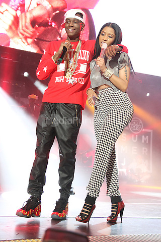 East Rutherford, NJ - June 1, 2014<br /> <br /> Soulja Boy &amp; Nicki Minaj perform at the Hot 97 Summer Jam 2014 concert at Metlife Stadium, June 1, 2014 in East Rutherford, NJ<br /> <br /> <br />  Walik Goshorn/MediaPunch