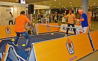 September 12, 2014, Netherlands, Amsterdam, Ziggo Dome, Davis Cup Netherlands-Croatia, <br /> Photo: Tennisimages/Henk Koster