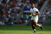Beno Obano of the England XV looks on. Quilter Cup International match between England XV and the Barbarians on June 2, 2019 at Twickenham Stadium in London, England. Photo by: Patrick Khachfe / Onside Images