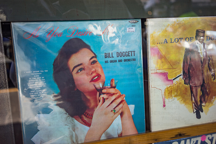 Record cover by Bill Doggett his organ and orchestra