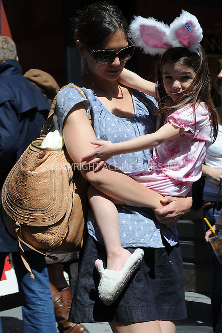 WWW.ACEPIXS.COM . . . . . ....April 10 2010, New York City....Actress Katie Holmes took her daughter Suri Cruise shopping in Union Square on April 10 2010 in New York City....Please byline: KRISTIN CALLAHAN - ACEPIXS.COM.. . . . . . ..Ace Pictures, Inc:  ..(212) 243-8787 or (646) 679 0430..e-mail: picturedesk@acepixs.com..web: http://www.acepixs.com