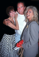 Kathie Lee Gifford Frank Gifford Connie Stevens 1991<br /> Photo By John Barrett/PHOTOlink