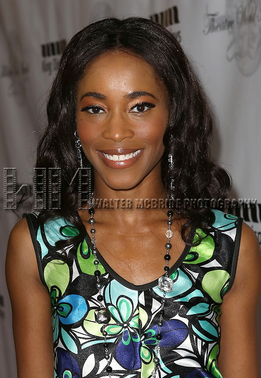 Valisia LeKae attending the 69th Annual Theatre World Awards at the Music Box Theatre in New York City on June 03, 2013.