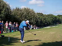 Paul Waring (ENG) in action on the 3rd hole during the third round of the 76 Open D'Italia, Olgiata Golf Club, Rome, Rome, Italy. 12/10/19.<br /> Picture Stefano Di Maria / Golffile.ie<br /> <br /> All photo usage must carry mandatory copyright credit (© Golffile | Stefano Di Maria)