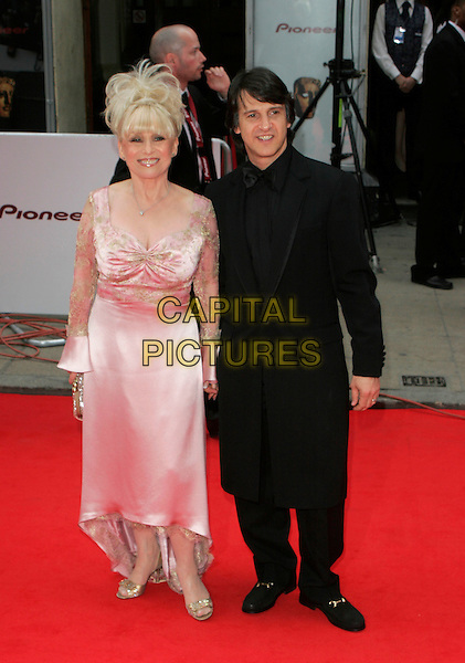 BARBARA WINDSOR.Red Carpet Arrivals at The British Academy Television Awards (BAFTA's) Sponsored by Pioneer, held at the London Palladium, London, England, May 20th 2007. .full length pink dress.CAP/AH.©Adam Houghton/Capital Pictures.