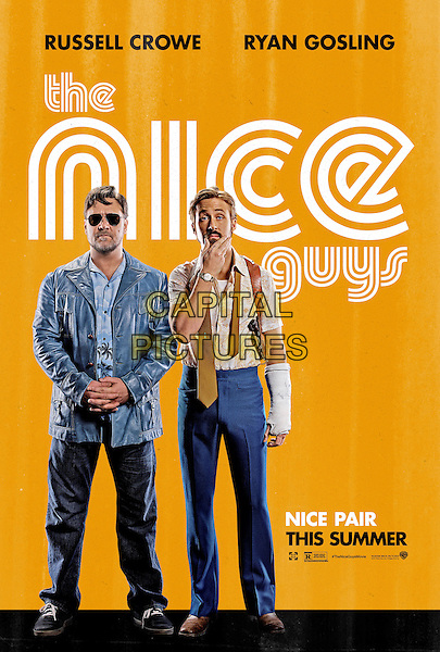 The Nice Guys (2016) <br /> POSTER ART<br /> *Filmstill - Editorial Use Only*<br /> CAP/KFS<br /> Image supplied by Capital Pictures