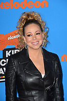Mariah Carey at Nickelodeon's 2018 Kids' Choice Awards at The Forum, Los Angeles, USA 24 March 2018<br /> Picture: Paul Smith/Featureflash/SilverHub 0208 004 5359 sales@silverhubmedia.com