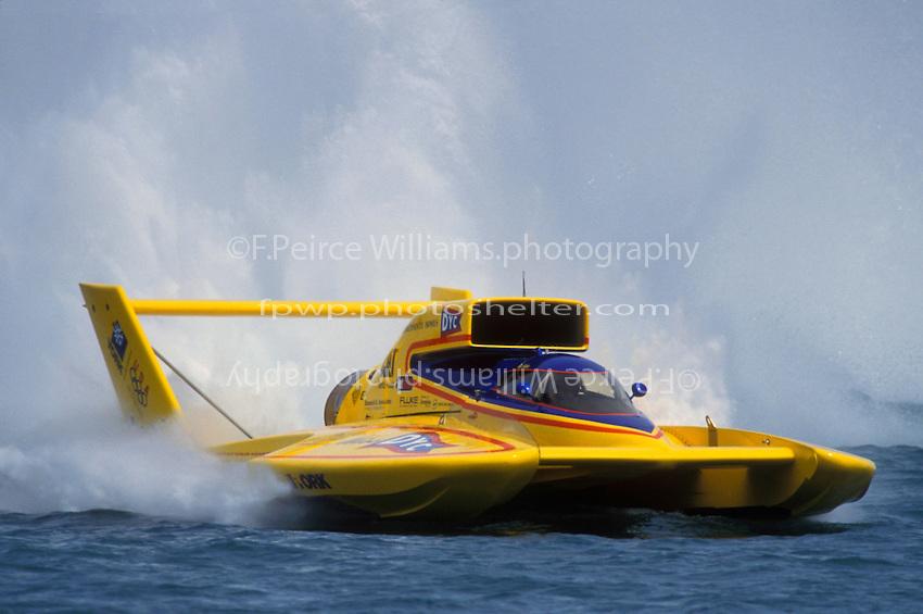 """Mark Weber, U-10 """"Miss DYC"""" (Unlimited Hydroplanes)"""