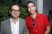 Maxwell Williams, Manny Castro==<br /> LAXART 5th Annual Garden Party Presented by Tory Burch==<br /> Private Residence, Beverly Hills, CA==<br /> August 3, 2014==<br /> ©LAXART==<br /> Photo: DAVID CROTTY/Laxart.com==