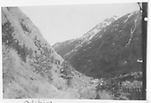 Town of Ophir with RGS Bridge 45-A at lower right.<br /> RGS  Ophir, CO