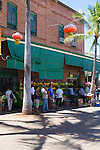 Downtown Honolulu's Chinatown district, Oahu, Hawaii