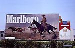 Marlboro billboard in Los Angeles circa 1960s