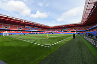 20190609 - VALENCIENNES , FRANCE : illustration shows the Stade du Hainaut before the female soccer game between Australia – the Matildas - and Italy – Squadra Azzurrine - , the first game for both teams in group C during the FIFA Women's  World Championship in France 2019, Sunday 9 th June 2019 at the Stade du Hainaut Stadium in Valenciennes , France .  PHOTO SPORTPIX.BE | DIRK VUYLSTEKE