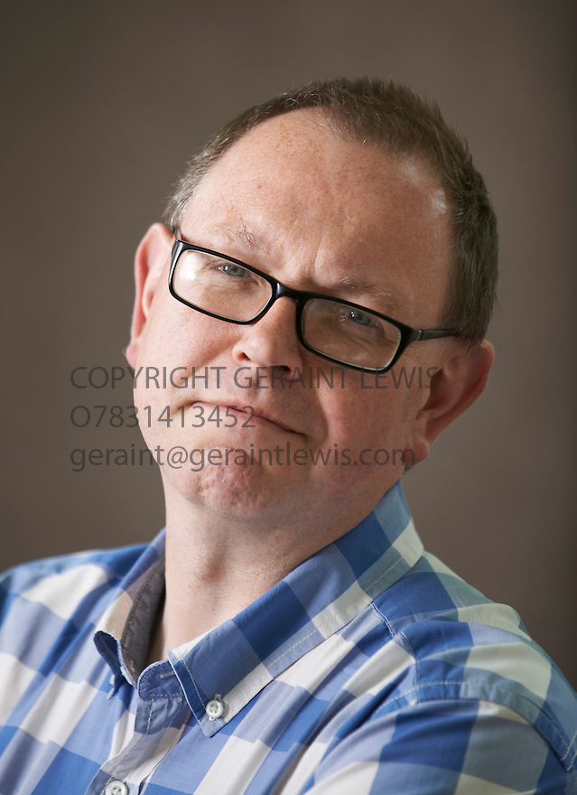 Francis Spufford, writer of Unapologetic at The Edinburgh International Book Festival   . Credit Geraint Lewis