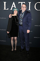 "LOS ANGELES - FEB 13:  Ann VanderMeer, Jeff VanderMee at the ""Annihilation"" Los Angeles Premiere at Village Theater on February 13, 2018 in Westwood, CA"