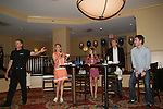 Robert Newman, Gina Tognoni, Marcy Rylan, Grant Aleksander and Jeff Branson at the VP GL Breakfast followed by a meet and greet and later that day the 4th Annual Fashion Show Luncheon on April 26, 2009 to benefit Young Women's Cancer Awareness Foundation at Embassy Suites Hotel, Coraopolis (near Pittsburgh). (Photo by Sue Coflin/Max Photos)