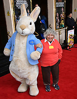 Miriam Margolyes attends press performance of Where Is Peter Rabbit? musical following the beloved character Peter Rabbit and his friends in a story based on Beatrix Potter's magical world, at Theatre Royal Haymarket<br /> CAP/JOR<br /> &copy;JOR/Capital Pictures