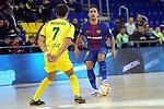 League LNFS 2017/2018 - Game 15.<br /> FC Barcelona Lassa vs Gran Canaria FS: 9-2.<br /> Nacho Gil vs Joselito Fernandez.