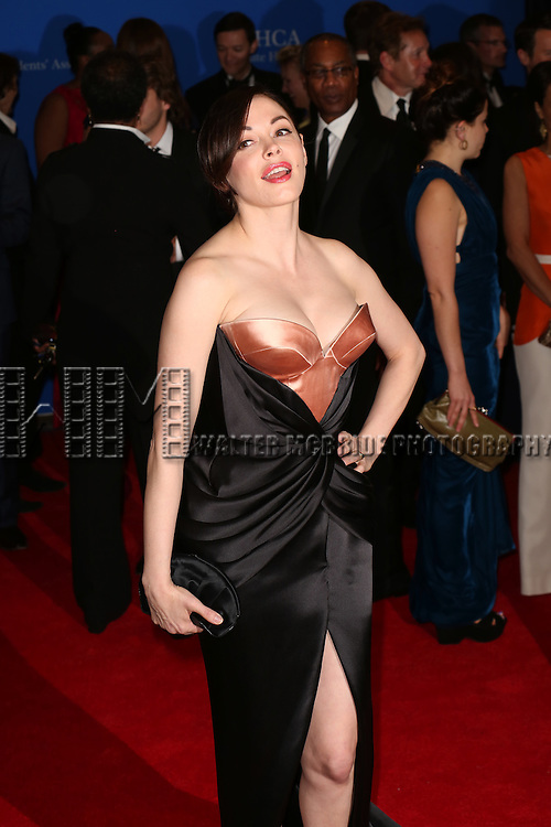 Rose McGowan attends the 100th Annual White House Correspondents' Association Dinner at the Washington Hilton on May 3, 2014 in Washington, D.C.