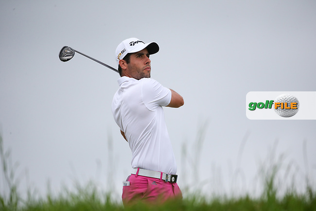 Adrian Otaegui (ESP) during Round Two of the 100th Open de France, played at Le Golf National, Guyancourt, Paris, France. 01/07/2016. Picture: David Lloyd | Golffile.<br /> <br /> All photos usage must carry mandatory copyright credit (&copy; Golffile | David Lloyd)