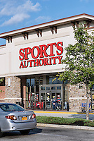Sports Authority store, Mount Laural, New Jersey, USA