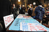 University of Chicago students  marched to University of Chicago police headquarters demanding complete communication with the community about police policies and procedures, access to crime statistics in the community and a reformation of procedures to complain about negligent police activity.