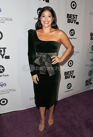 LOS ANGELES, CA - NOVEMBER 8: Gina Rodriguez at the Eva Longoria Foundation Dinner Gala honoring Zoe Saldana and Gina Rodriguez at The Four Seasons Beverly Hills in Los Angeles, California on November 8, 2018. Credit: Faye Sadou/MediaPunch