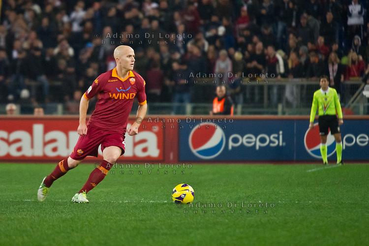 ROMA (RM) 19/11/2012: SERIE A TREDICESIMA GIORNATA ROMA - TORINO. INCONTRO VINTO DALLA ROMA PER 2 A 0. NELLA FOTO BRADLEY  ROMA FOTO ADAMO DI LORETO/