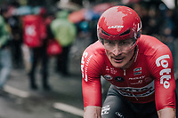Andr&eacute; Greipel (DEU/Lotto-Soudal) finishing<br /> <br /> 104th Tour de France 2017<br /> Stage 1 (ITT) - D&uuml;sseldorf &rsaquo; D&uuml;sseldorf (14km)