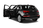 Car images close up view of a 2018 Audi SQ5 Premium Plus 5 Door SUV doors