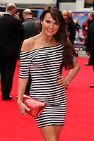 "Lizzie Cundy arrives for the ""Postman Pat"" premiere at the Odeon West End, Leicester Square, London. 11/05/2014 Picture by: Steve Vas / Featureflash"