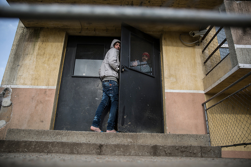 SOFIA, BULGARIA- Ovcha Kupel State Agency for Refugees, where asylum seekers wait for months to have their asylum claims to be approved.