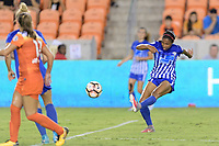 Houston, TX - Saturday July 22, 2017: Margaret Purce during a regular season National Women's Soccer League (NWSL) match between the Houston Dash and the Boston Breakers at BBVA Compass Stadium.