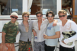 Nicholas Galbraith, Van Hansis, Jake Silbermann, Alex Cole, Billy Magnussen - ATWT - 11th Annual SoapFest - Actors take a break on the Ramblin' Rose with Ken as the captain on May 2, 2009 on Marco Island, FLA. (Photo by Sue Coflin/Max Photos)
