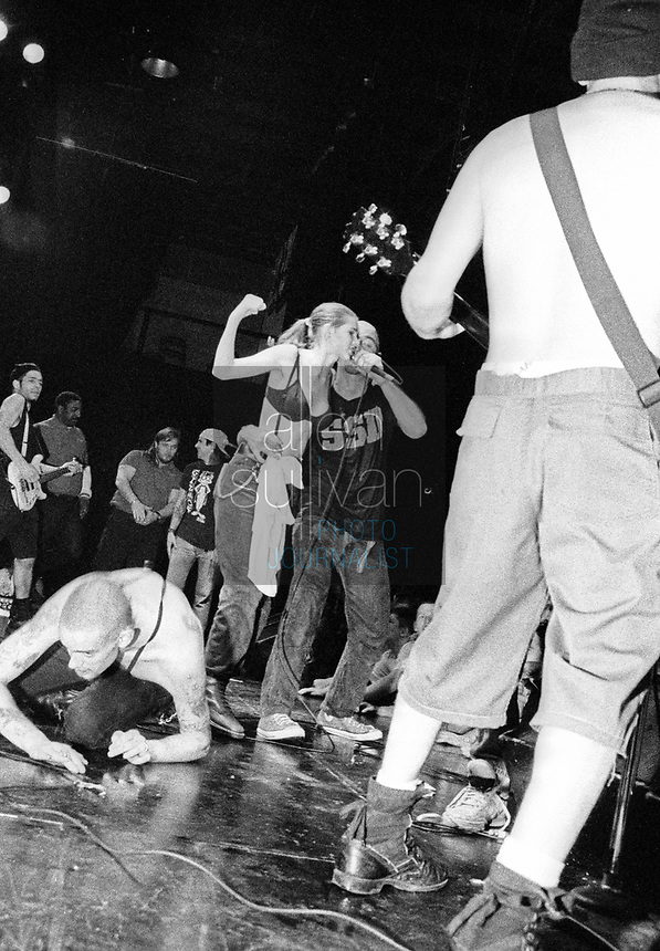 Jimmy Gestapo and Murphy's Law perform in Atlanta, Georgia in the early 1990s.
