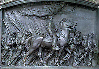 Shaw Memorial sculpture, 54th Mass Regiment, Boston