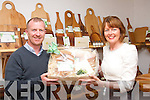 BOARD MEETING: On Wednesday evening, June 12th last, Tony O'Shea of Ambrí Boards, Monavalley Industrial Estate, Tralee met with Mary Ellen O'Connor, Ballingown, Tralee to present her with her prize hamper which she won at the Kerry Craft Fair held in the Manor Shopping centre the weekend of June 8th & 9th.