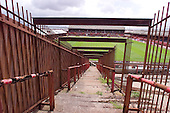 23/06/2000 Blackpool FC Bloomfield Road Ground.View towards the South stand from the Kop from the segregated centre section ......© Phill Heywood.