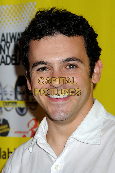 "FRED SAVAGE .""It?s Always Sunny in Philadelphia"" Season 4 Premiere and Season 3 DVD Launch Party at STK/Coco de Ville, West Hollywood, California, USA..September 10th, 2008.headshot portrait .CAP/ADM/BP.©Byron Purvis/AdMedia/Capital Pictures."