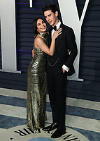 BEVERLY HILLS, CA - FEBRUARY 24: Vanessa Hudgens, Austin Butler at the 2019 Vanity Fair Oscar Party at the Wallis Annenberg Center for the Performing Arts on February 24, 2019 in Beverly Hills, California. (Photo by Xavier Collin/PictureGroup)